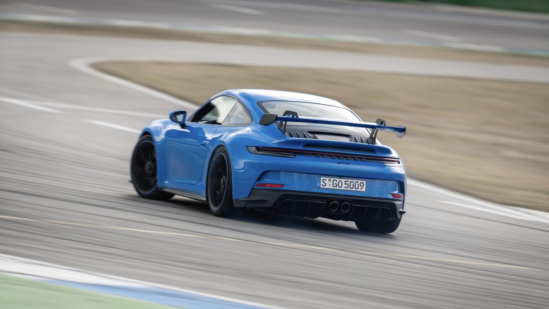Porsche 911 GT3 op Hockenheim