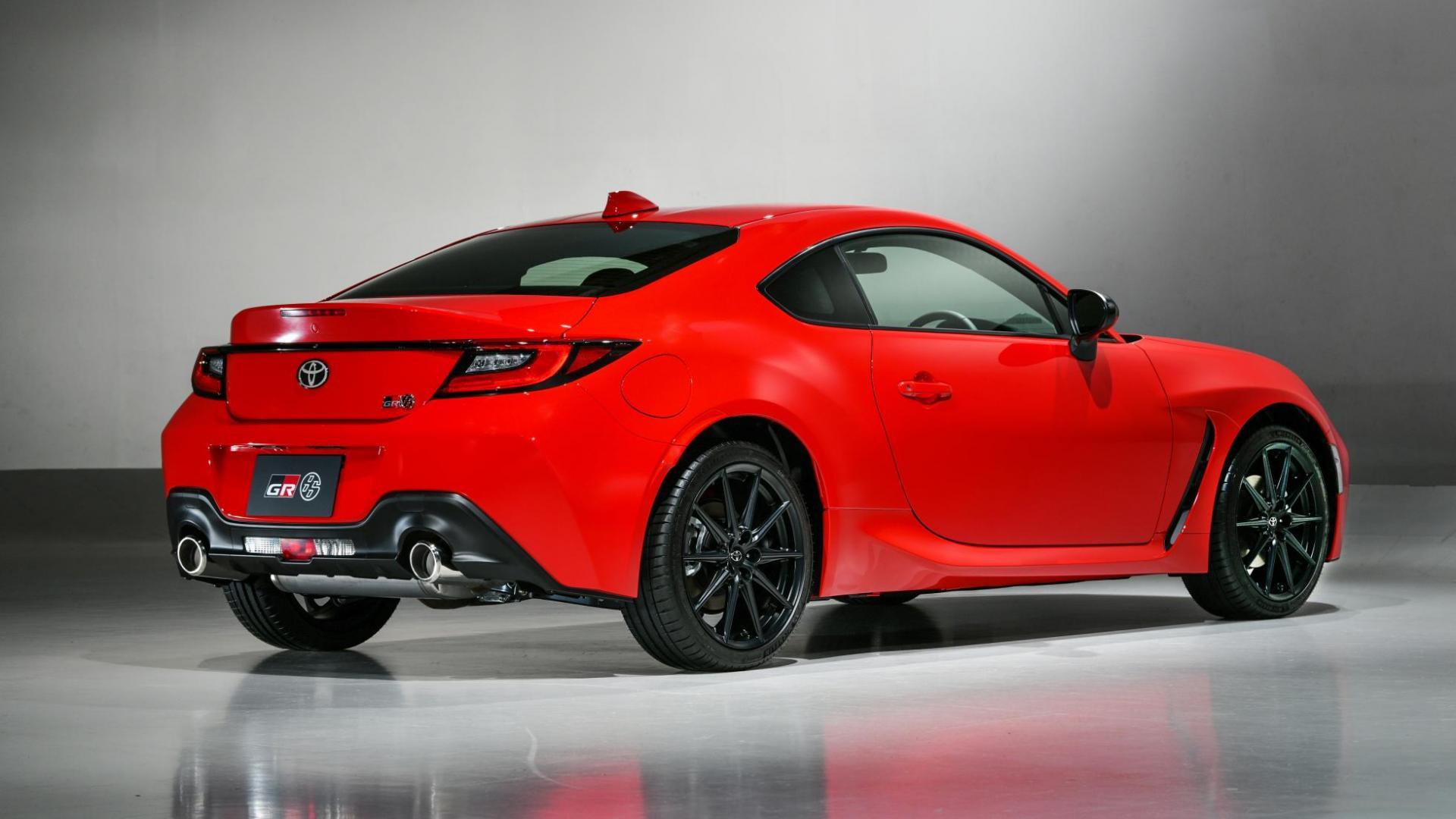 Achterkant Toyota GR 86 (2021)