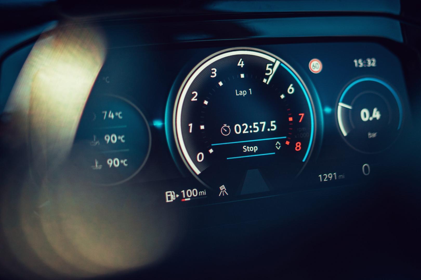 Meters Volkswagen Golf 8 R