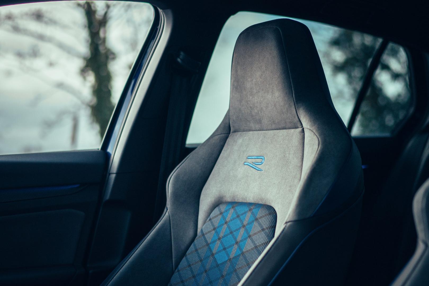 Volkswagen Golf 8 R (2021) stoel