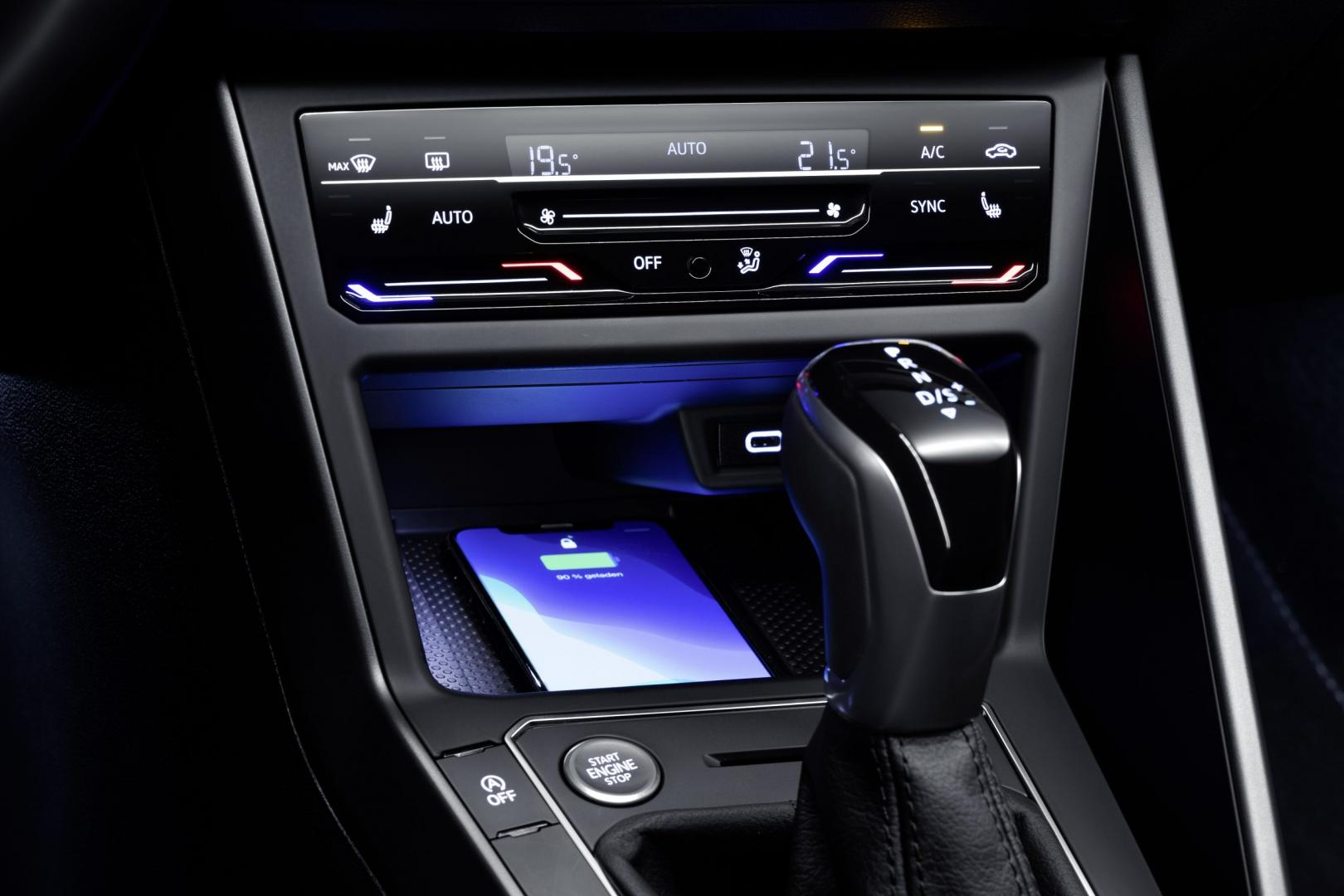 Middenconsole Volkswagen Polo facelift 2021