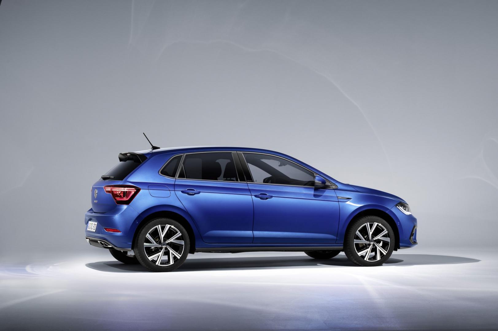 zijkant Volkswagen Polo facelift 2021