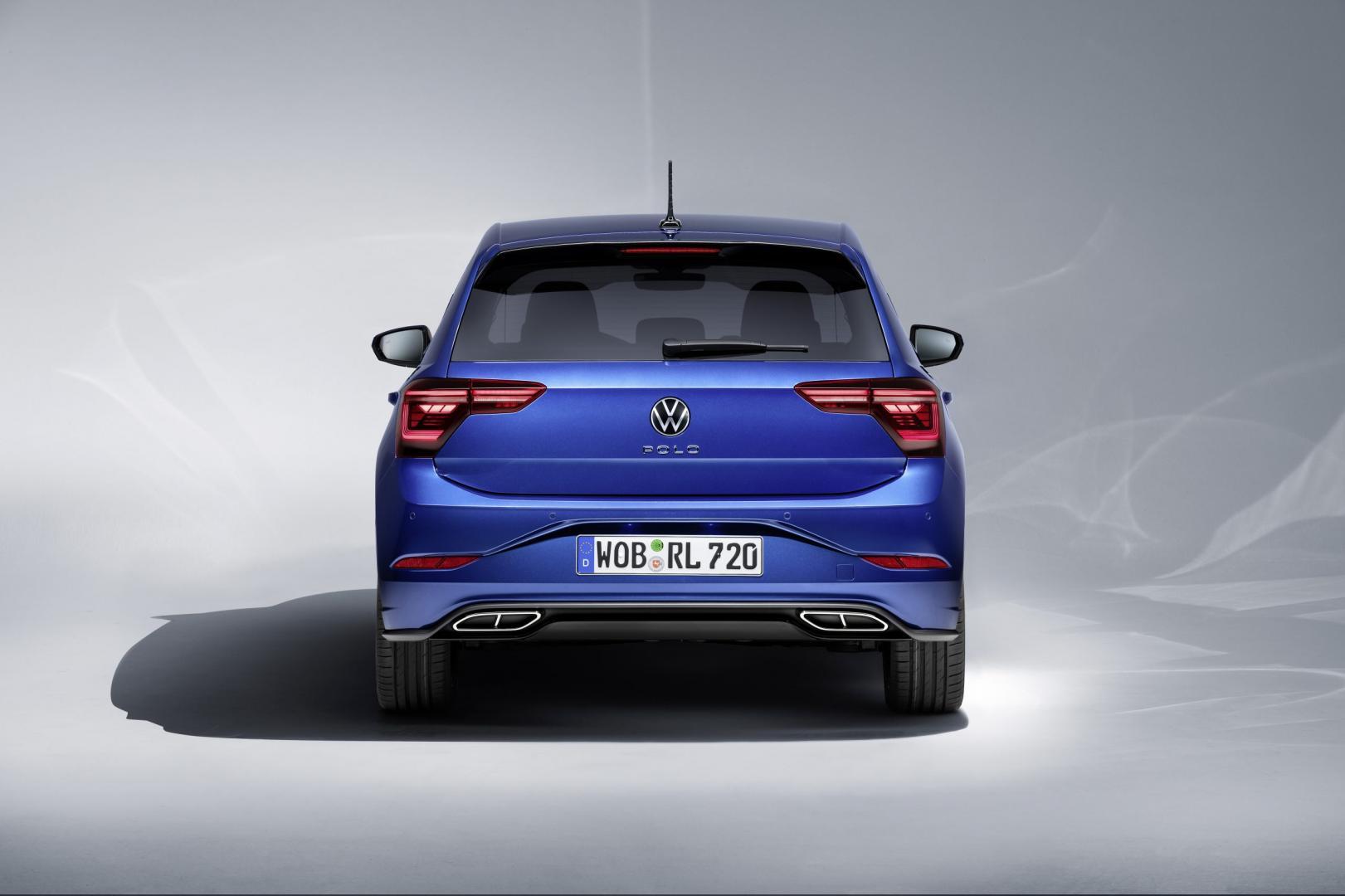 achterkant Volkswagen Polo facelift 2021