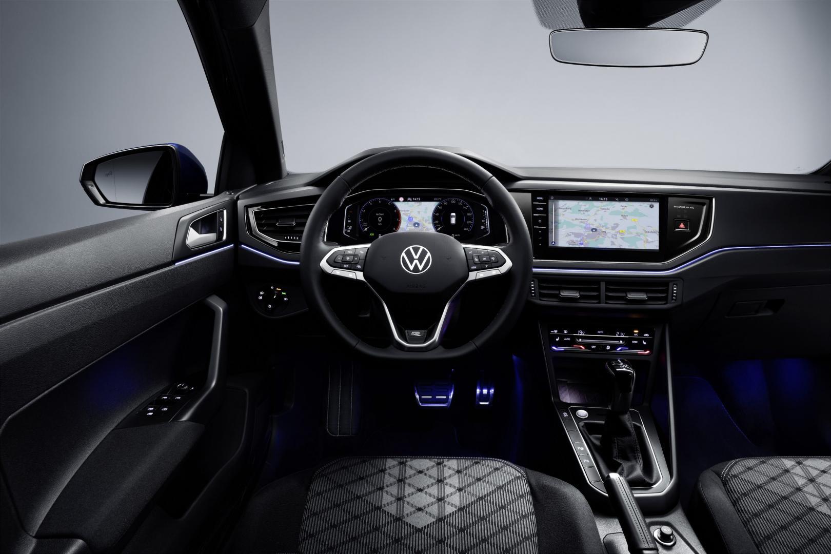 Schermen Volkswagen Polo facelift 2021