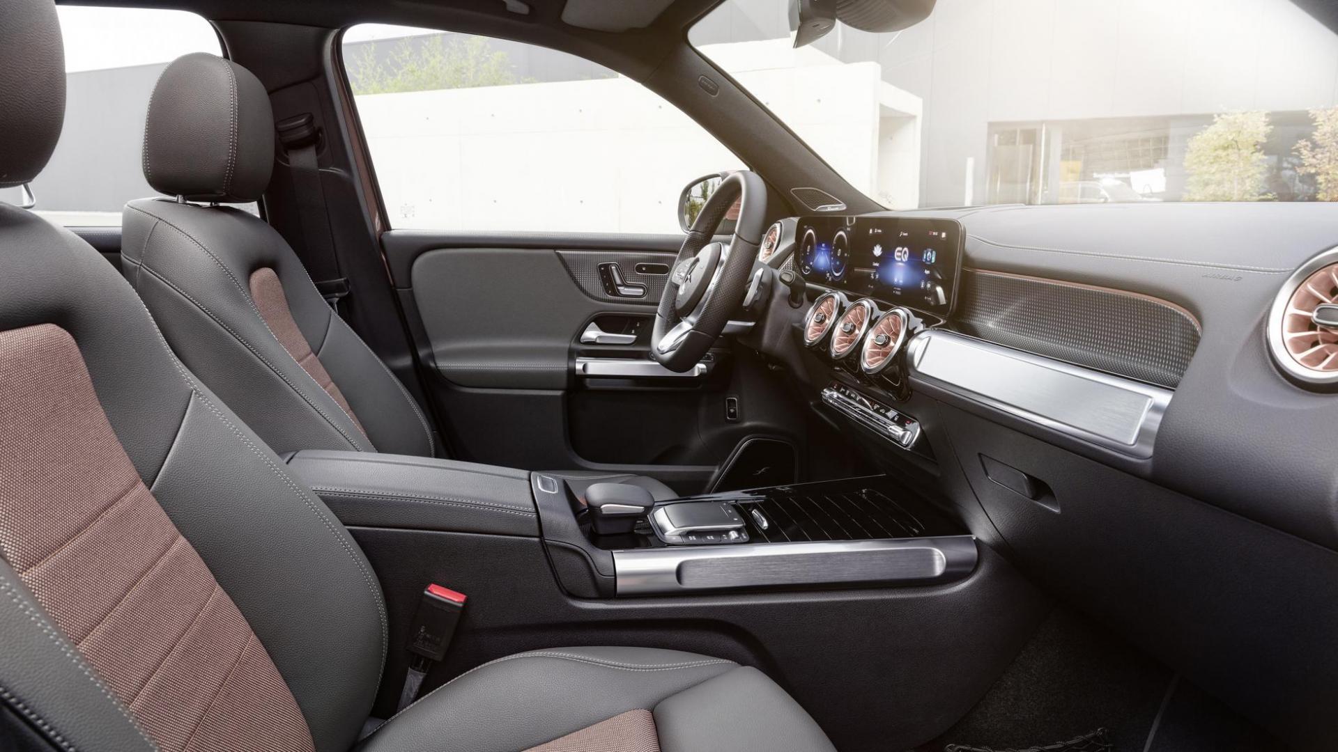 Voorstoelen Elektrische Mercedes EQB (2021)