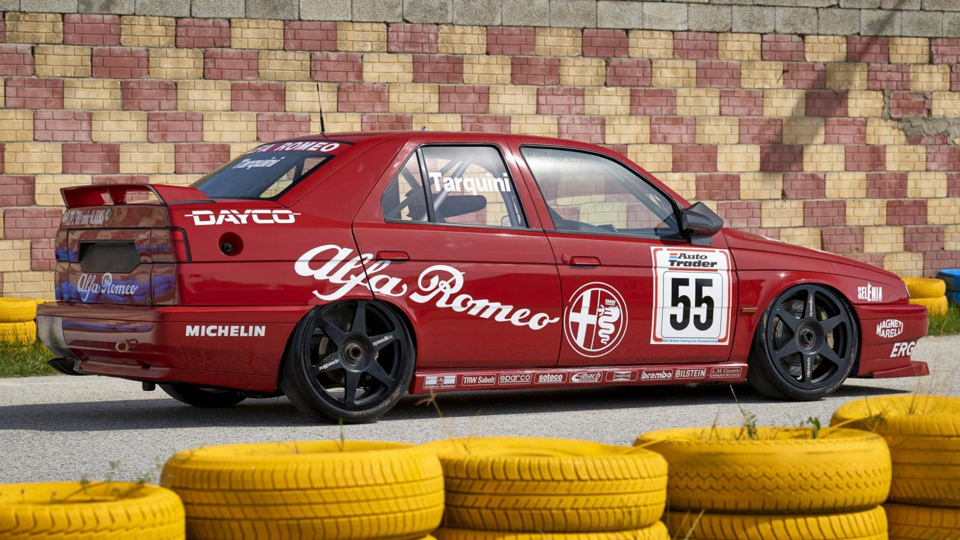 Alfa Romeo 155 BTCC van Gabriele Tarquini