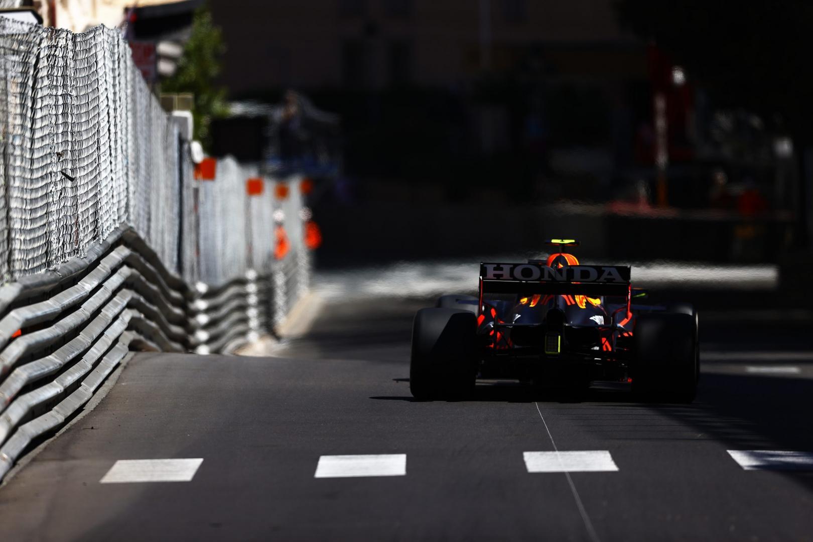 2e vrije training van de GP van Monaco 2021
