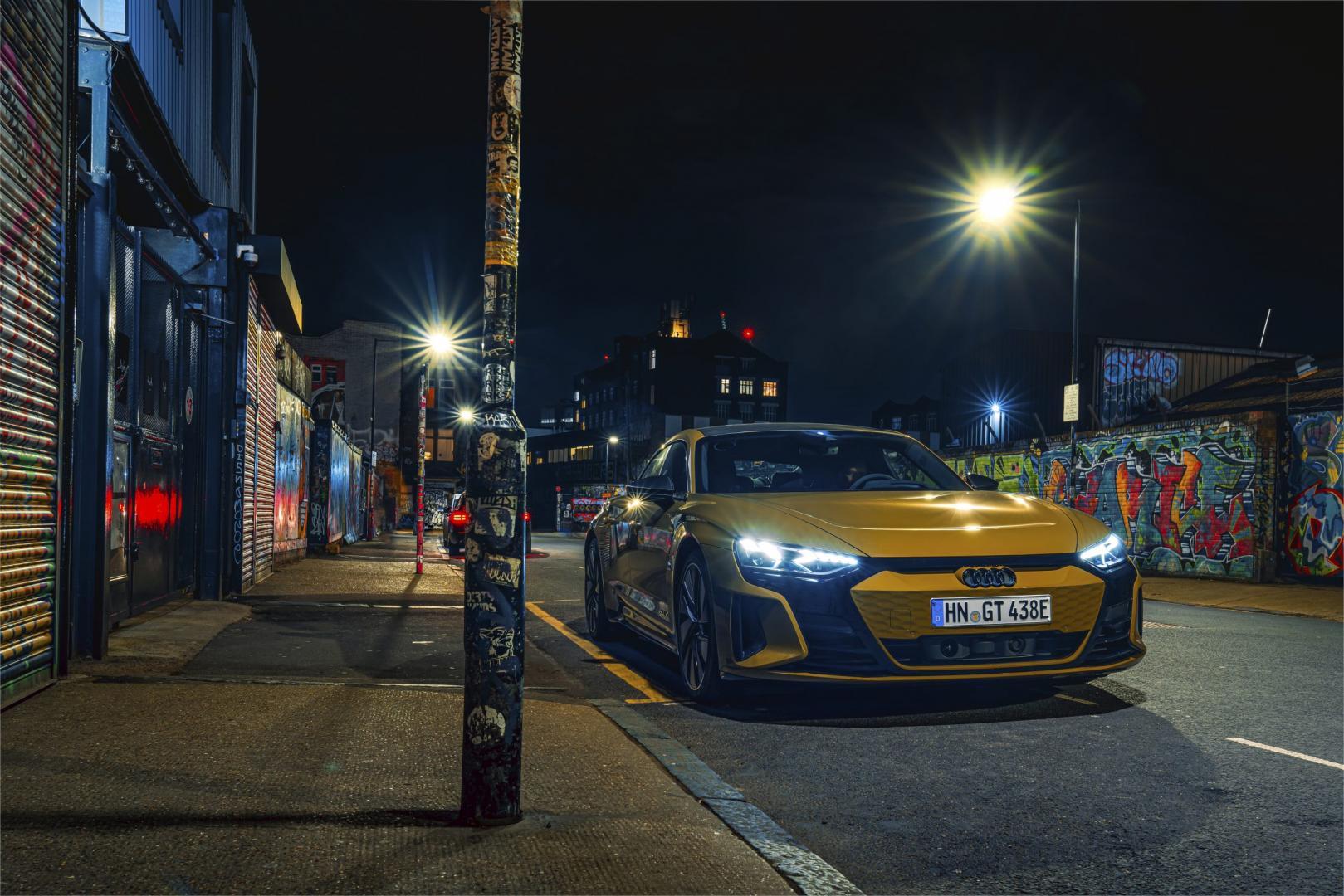Audi RS e-tron GT (2021) vooraknt