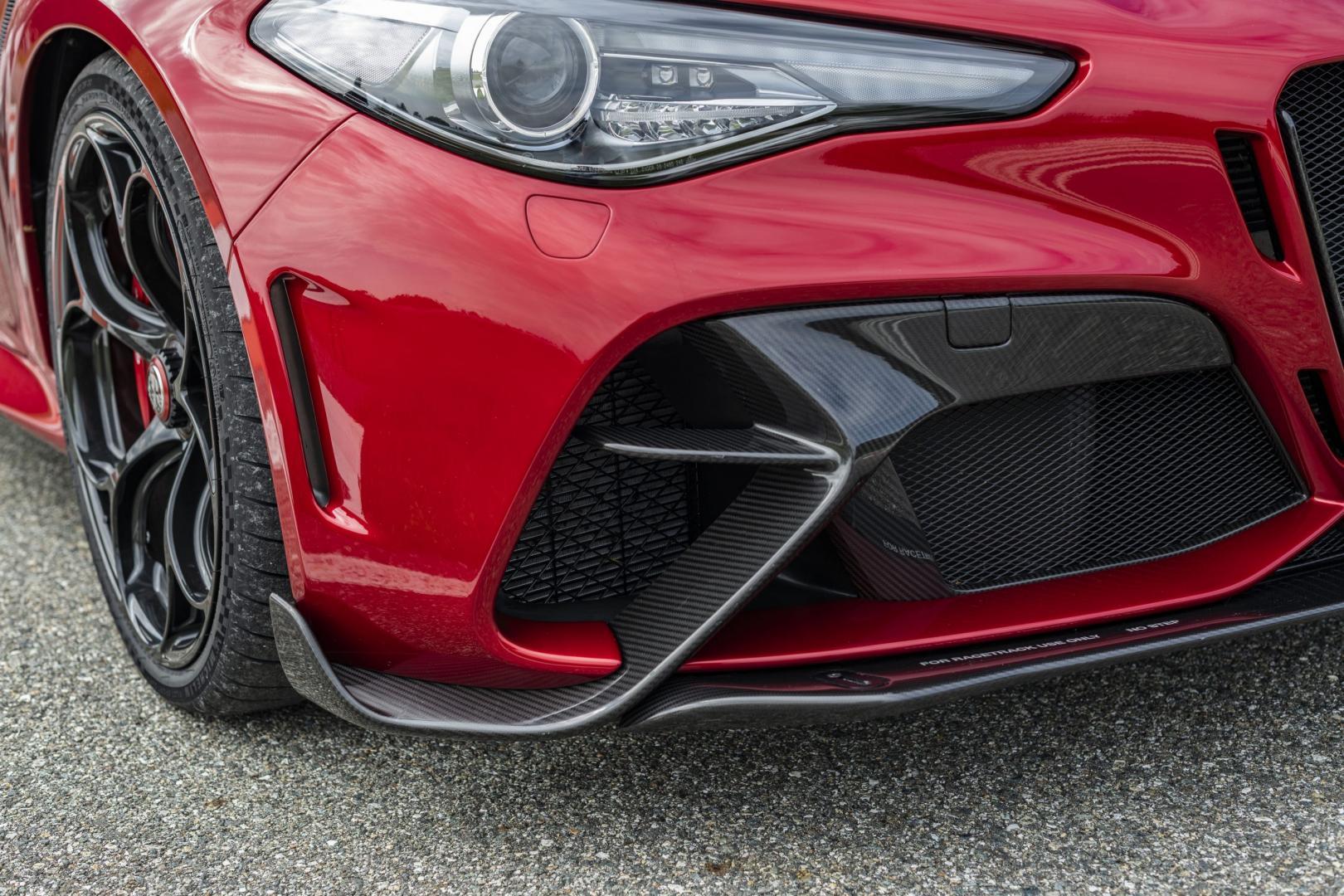 Koolstofvezel splitter Alfa Romeo GTAm