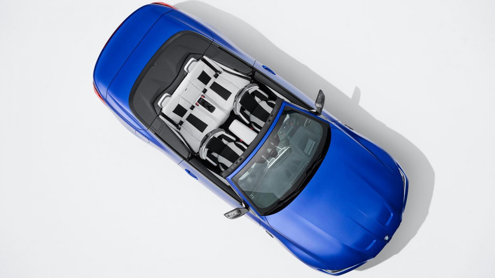 Bovenaanzicht BMW M4 Cabrio (G83) (2021)