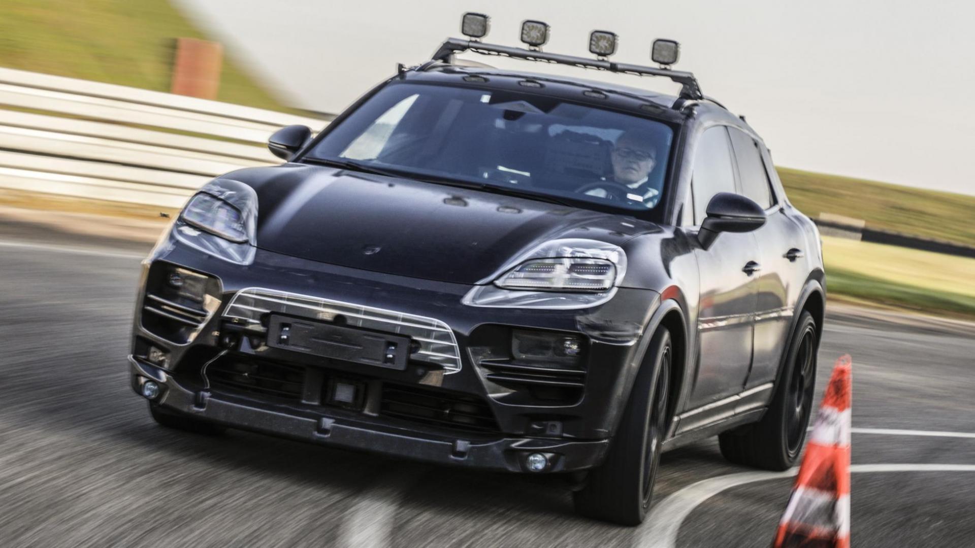 Elektrische Porsche Macan komt in 2023