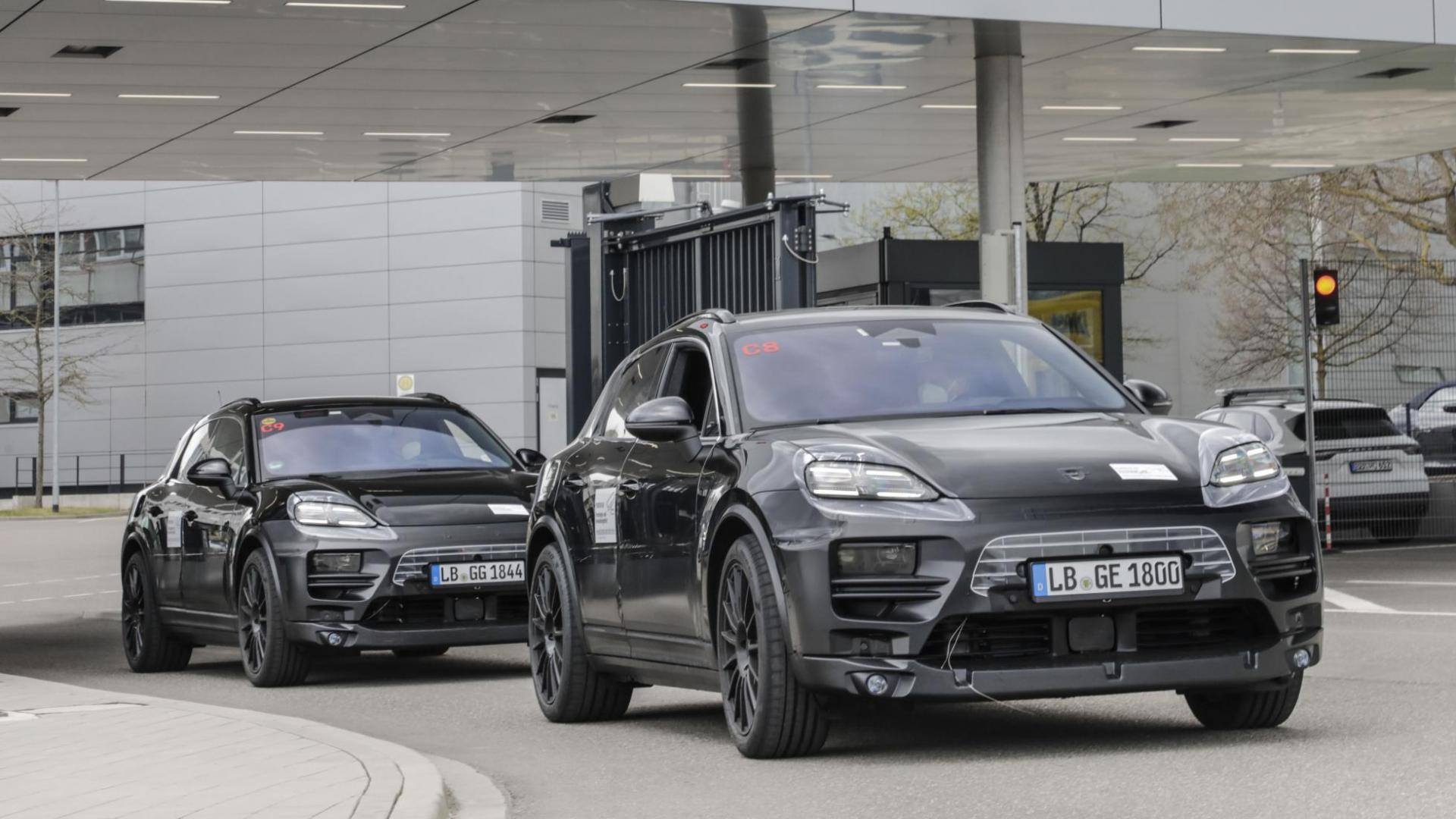 Elektrische Porsche Macan (2021)