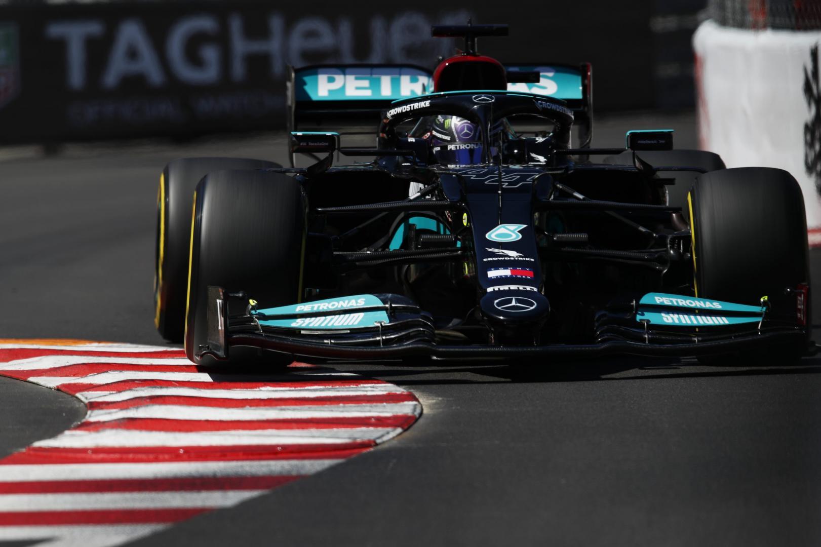 Kwalificatie van de GP van Monaco 2021