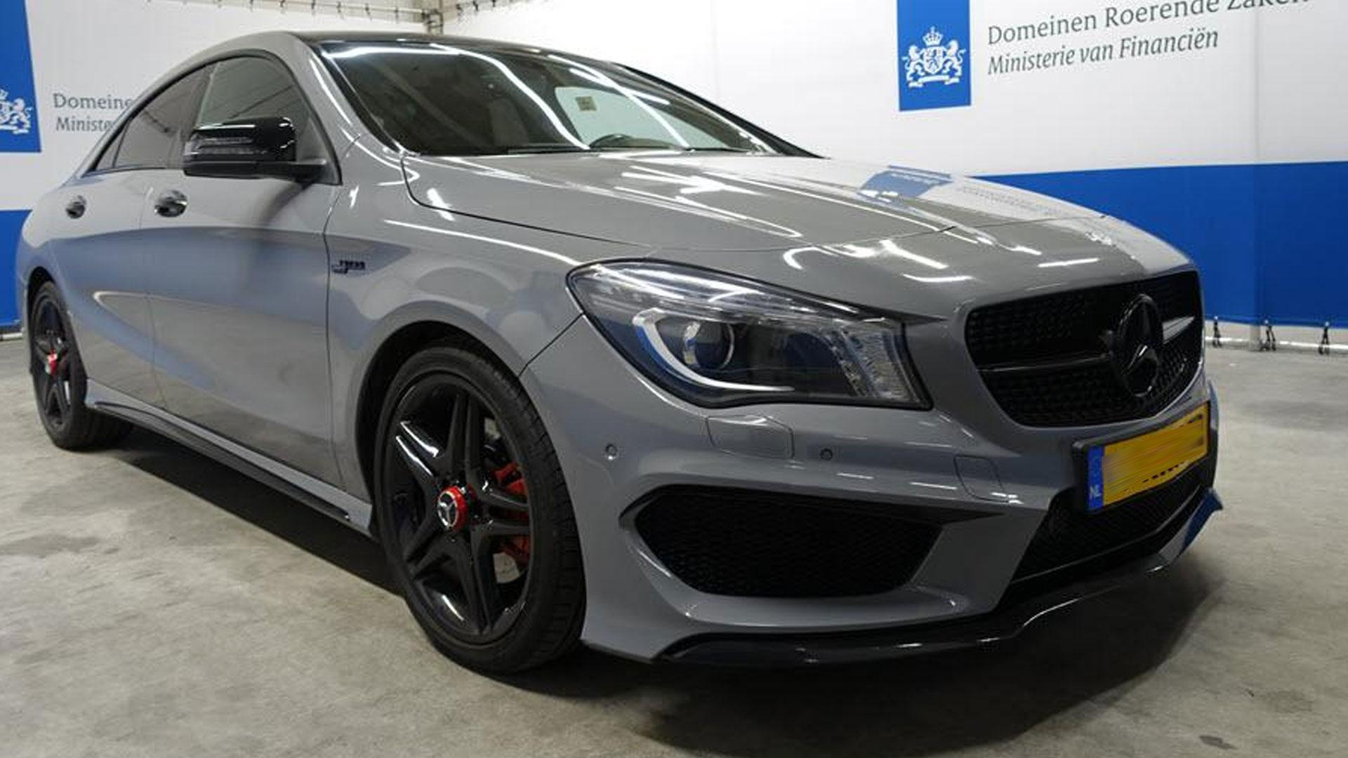 Mercedes CLA voor de 2e in beslag genomen