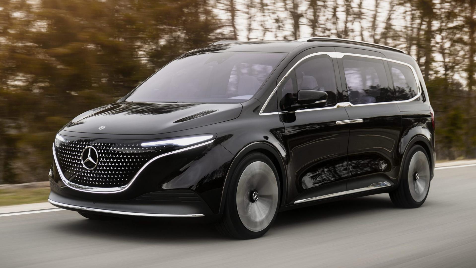 Mercedes EQT: elektrische T-klasse