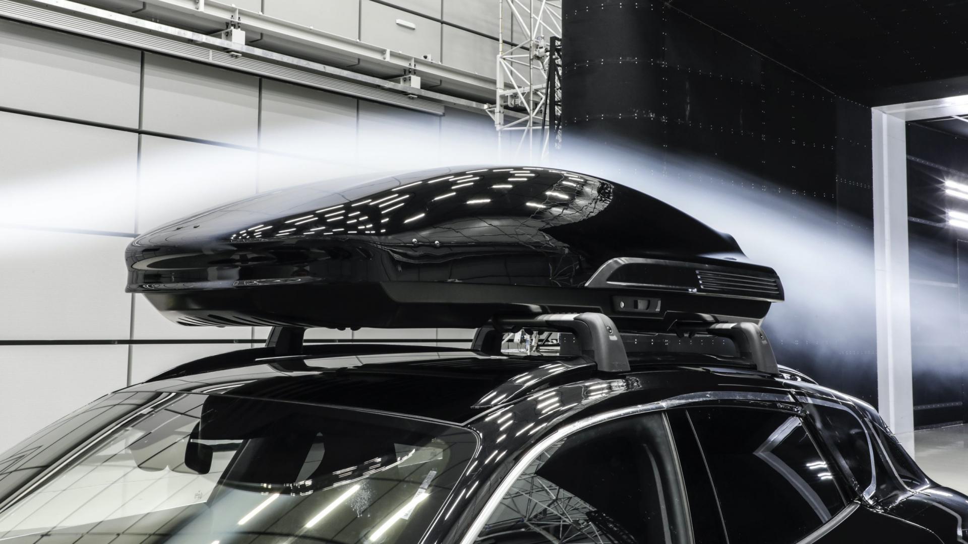 Porsche dakkoffer mag 200 km/u