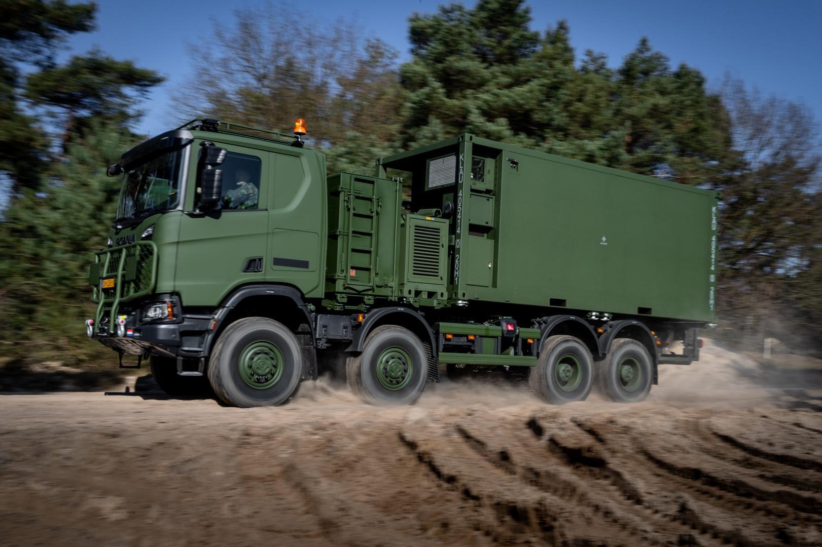 De nieuwe Scania XT vervangt de oude viertonner