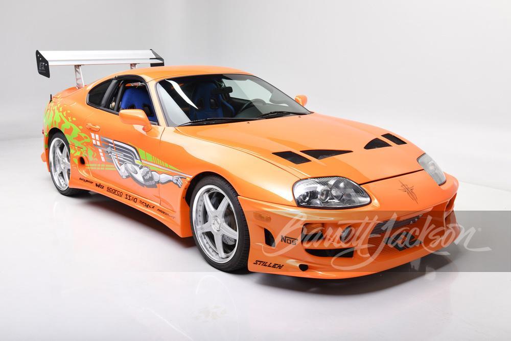 Echte Toyota Supra uit F&F kan van jou zijn