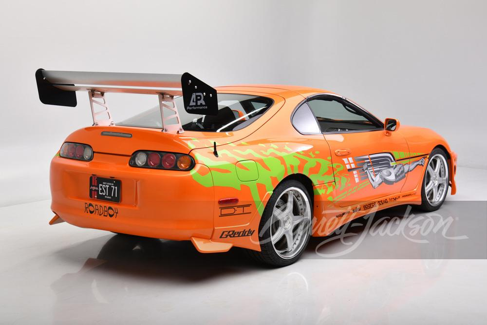 Toyota Supra uit The Fast and The Furious