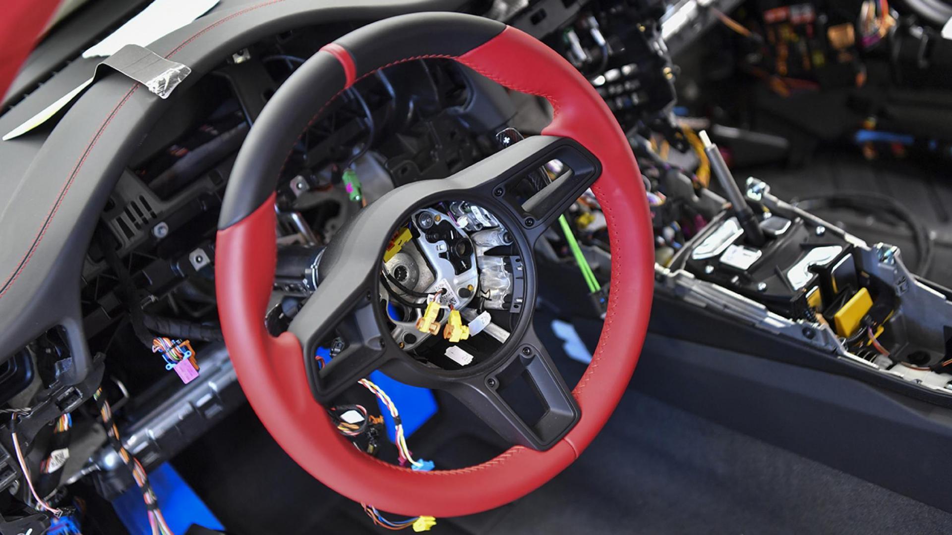 Stuur van Porsche 911 GT2 RS zonder airbag