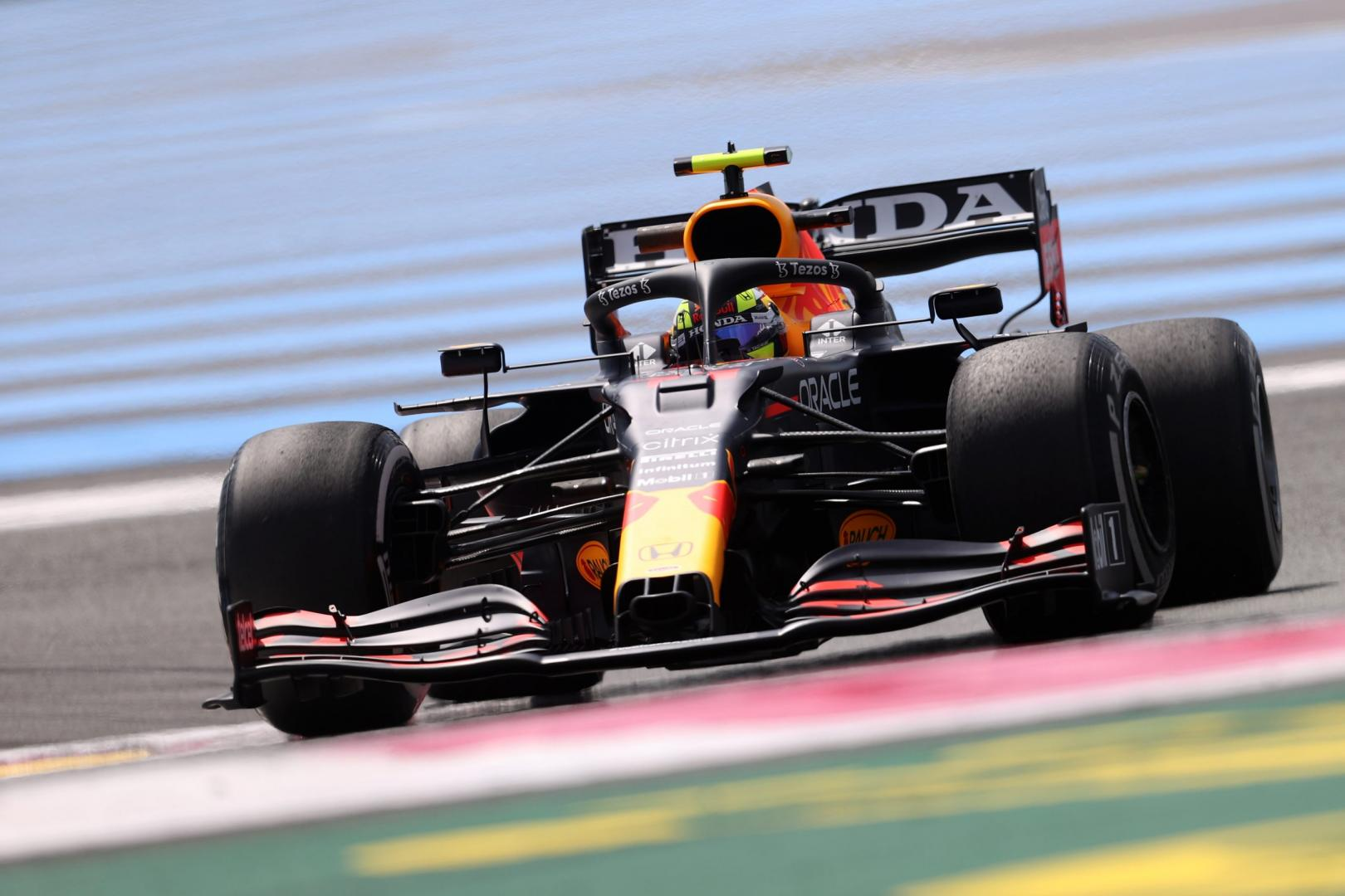 2e vrije training van de GP van Frankrijk 2021