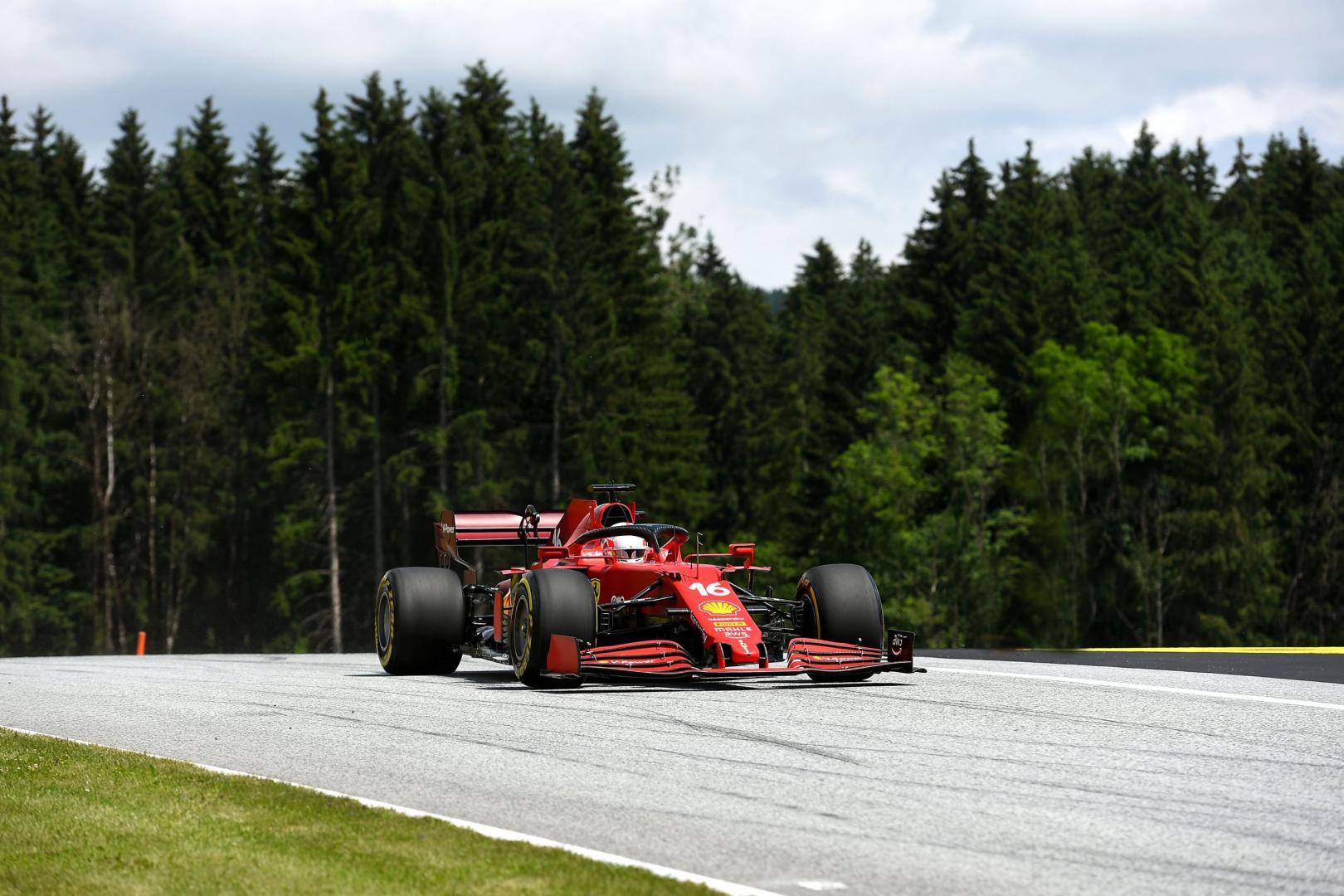 3e vrije training van de GP van Stiermarken 2021