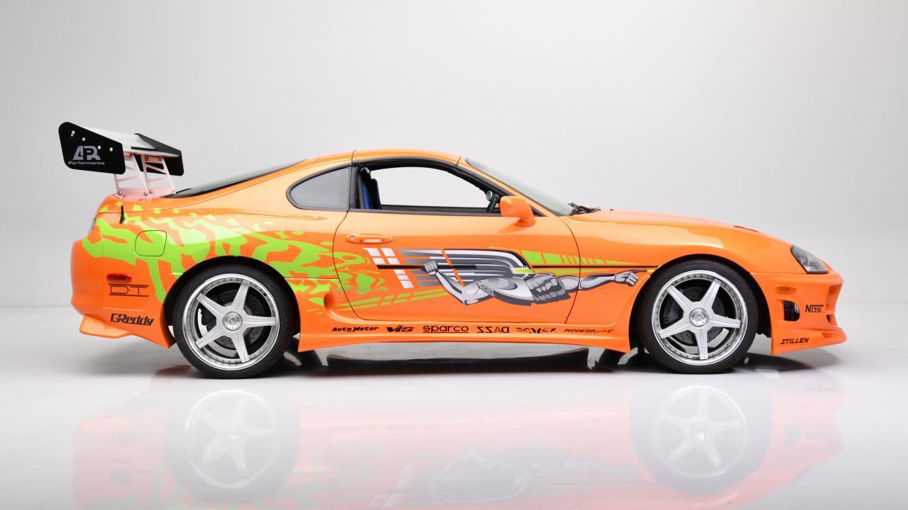 F&F Toyota Supra Barrett-Jackson studio