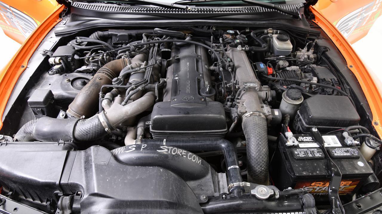 F&F Toyota Supra motor