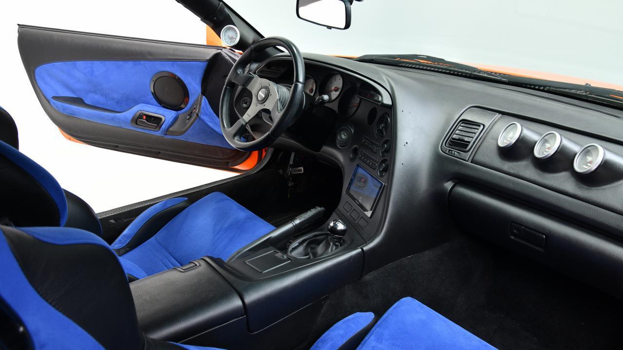 F&F Toyota Supra Barrett-Jackson interieur