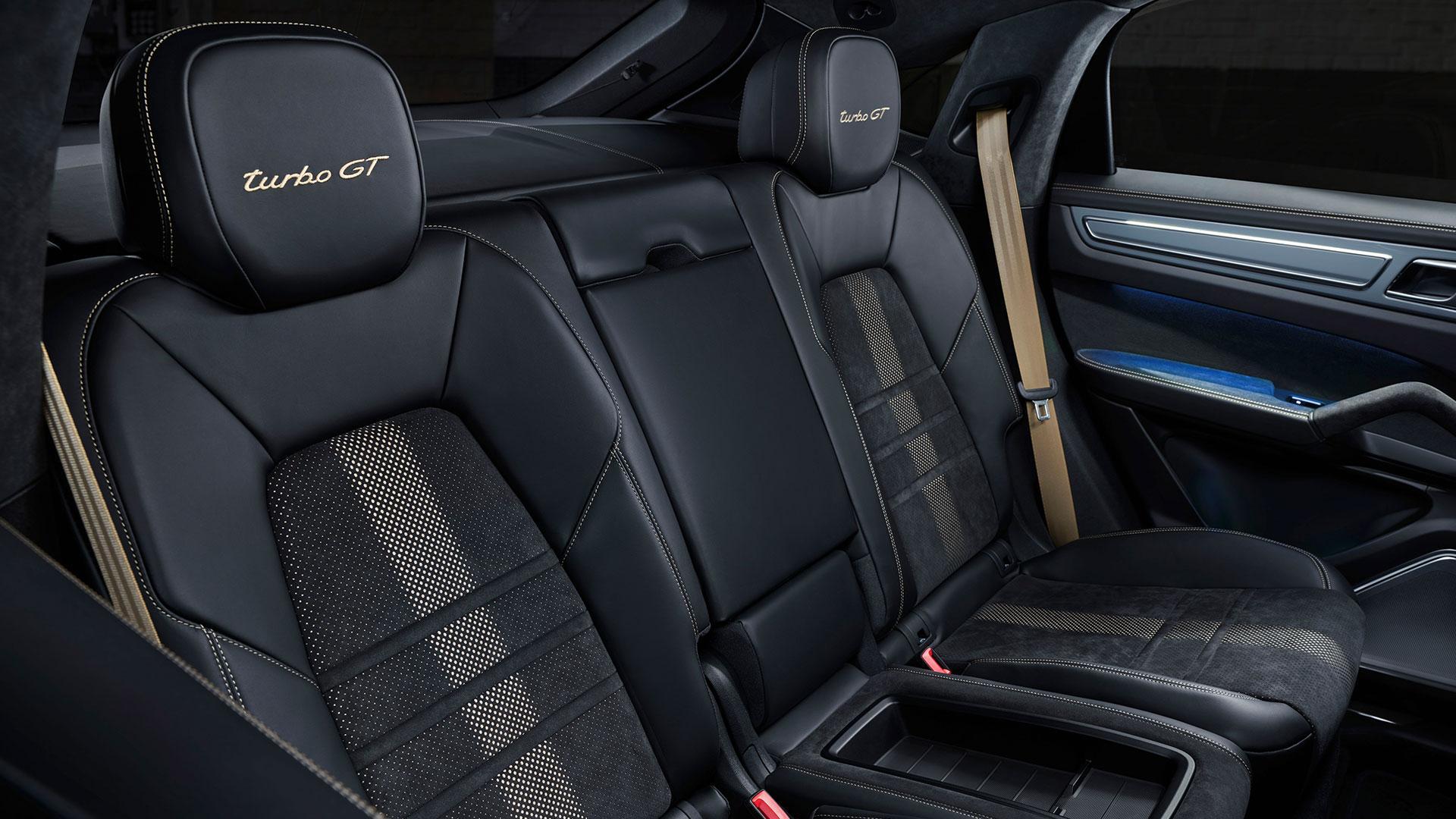 Achterbank Porsche Cayenne Turbo GT