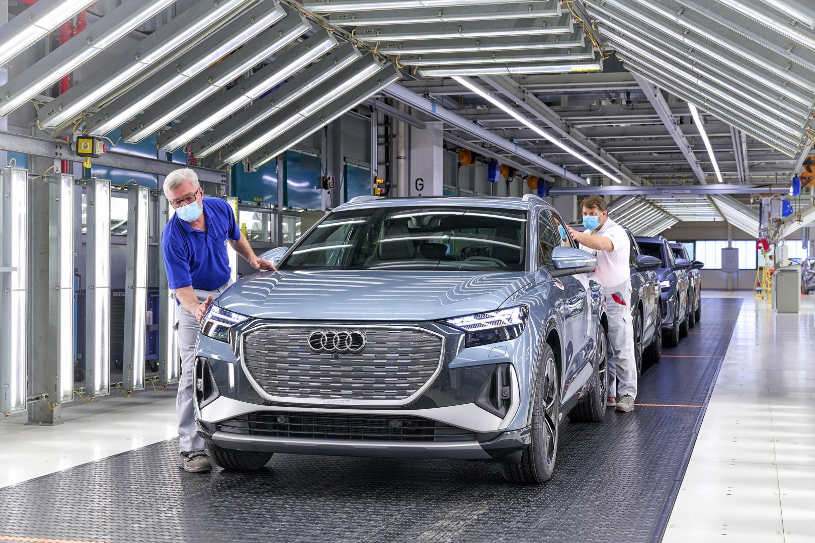 Audi Q4 e-tron productie