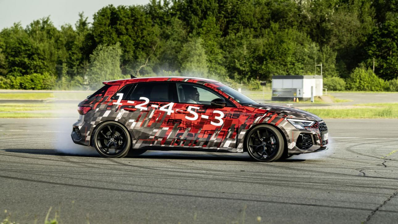 Drift Audi RS 3 (2021)