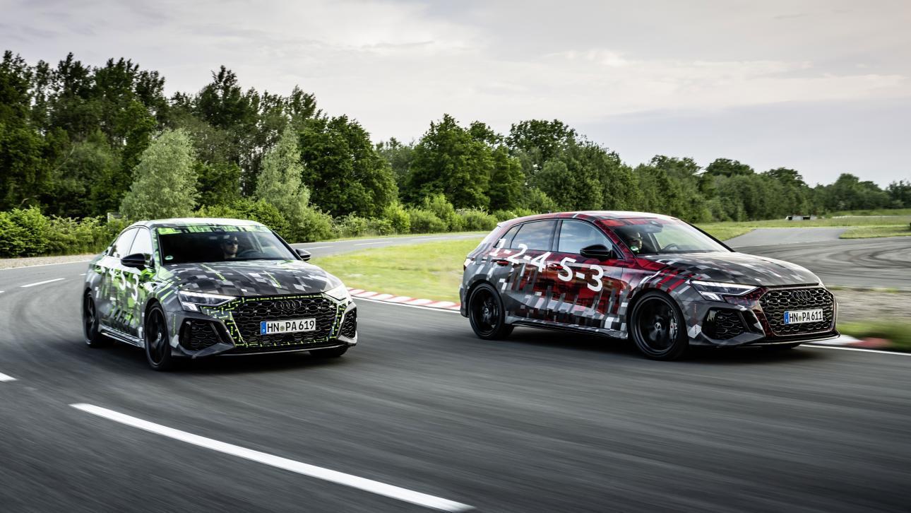 Audi RS 3 (2021) Limousine en Sportback
