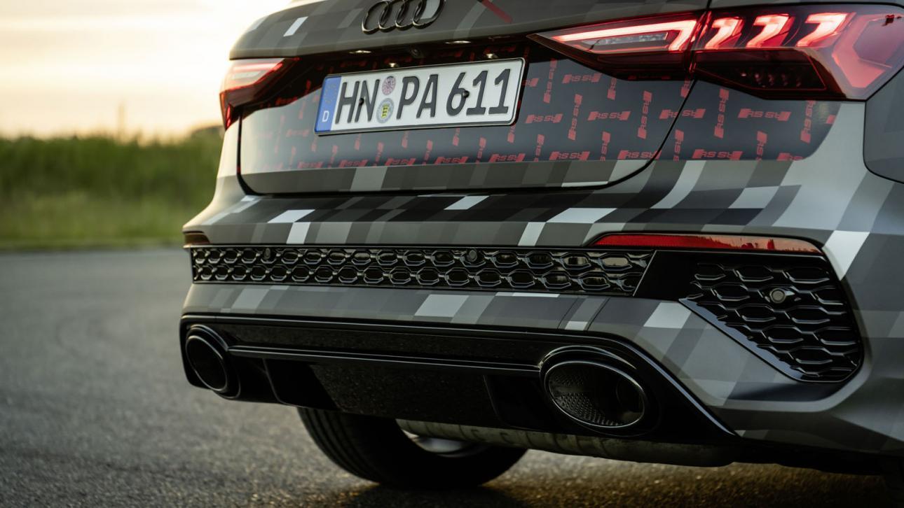 Achterbumper Audi RS 3 (2021) Limousine