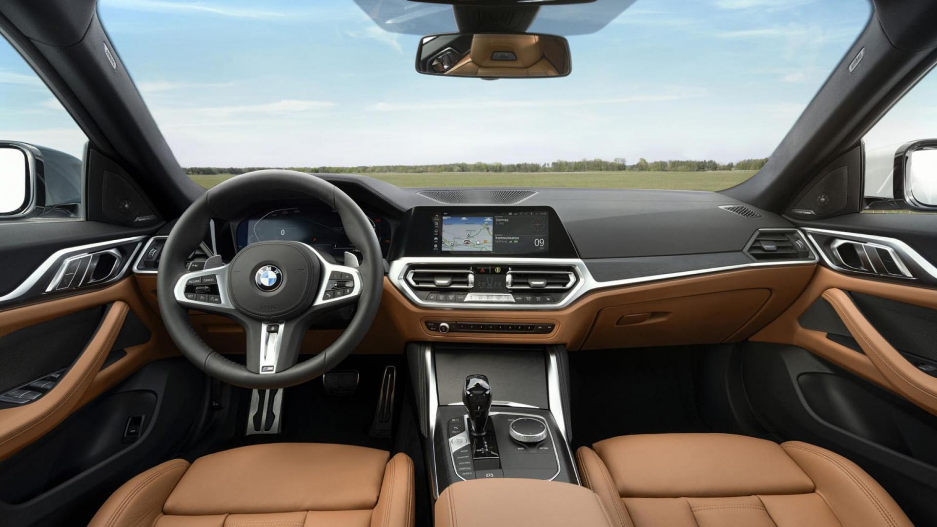 BMW 4-serie Gran Coupé interieur