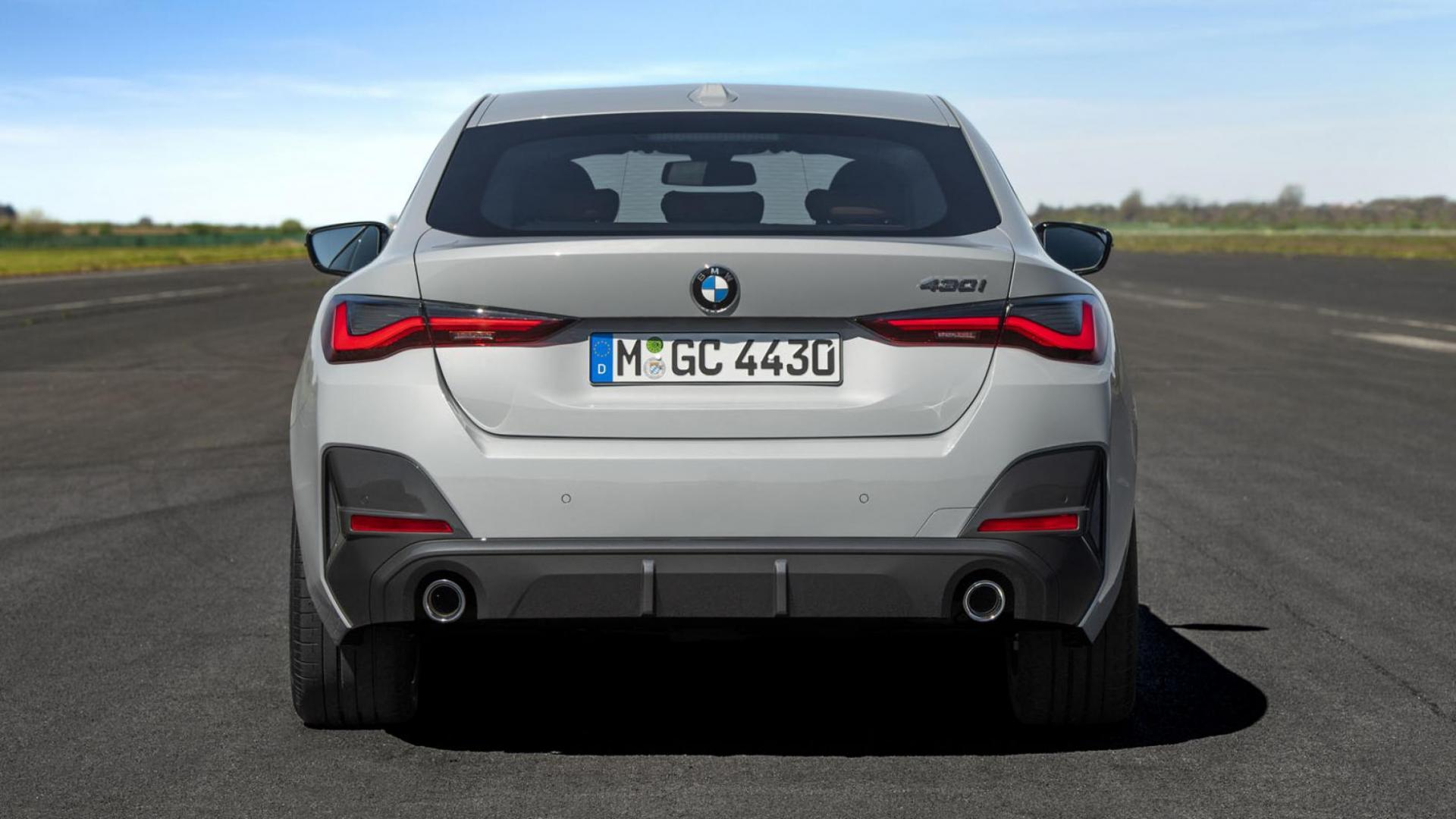BMW 4-serie Gran Coupé achterkant