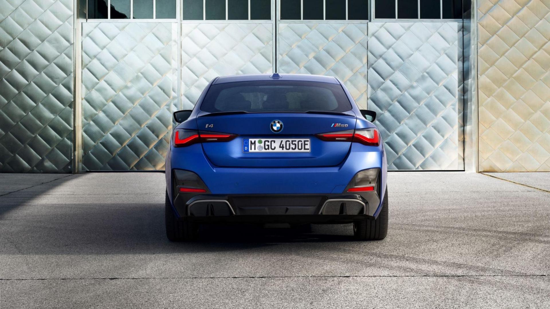 BMW i4 M50 (2021) achterkant