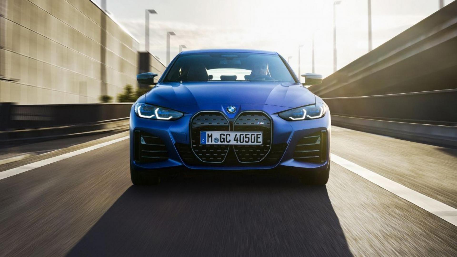 BMW i4 M50 (2021) voorkant