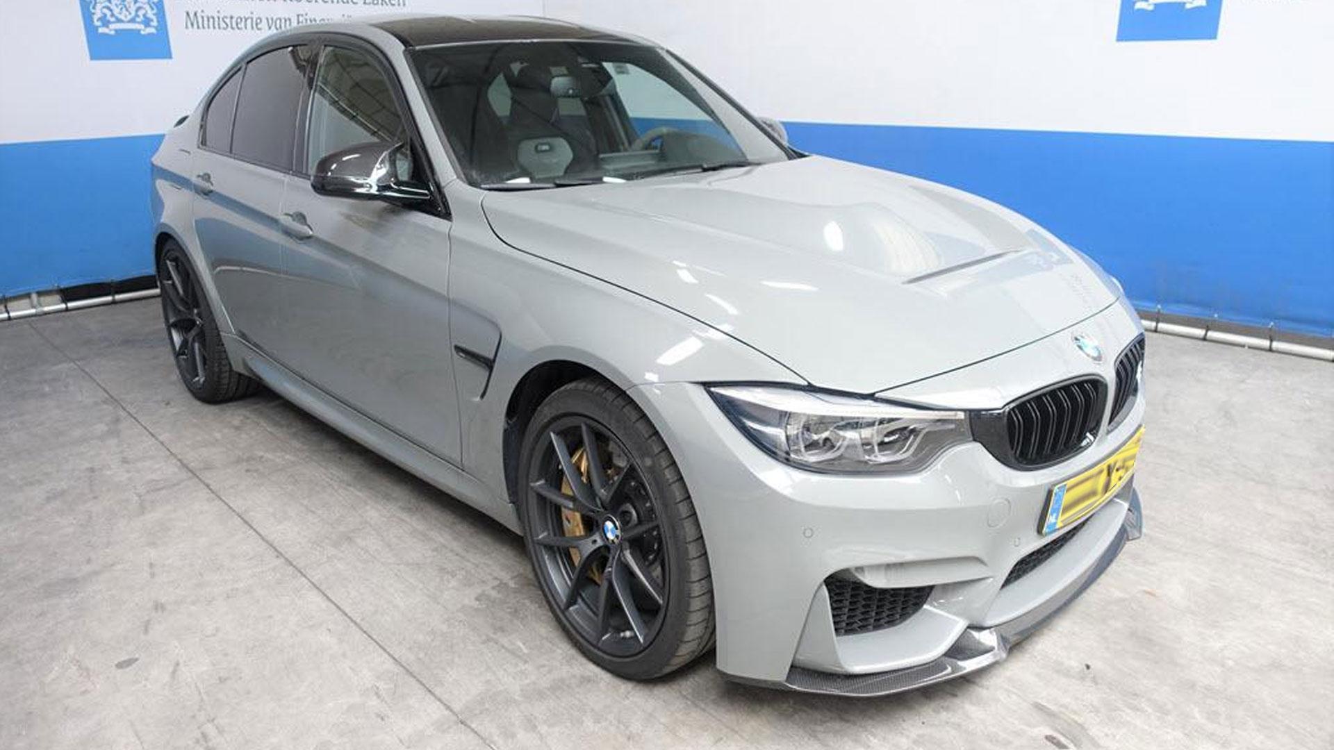 BMW M3 CS Grijs bij Domeinen