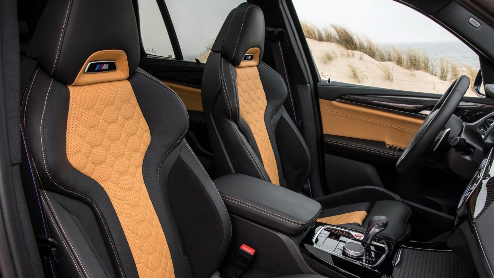 Interieur BMW X4 en X3 M Competition