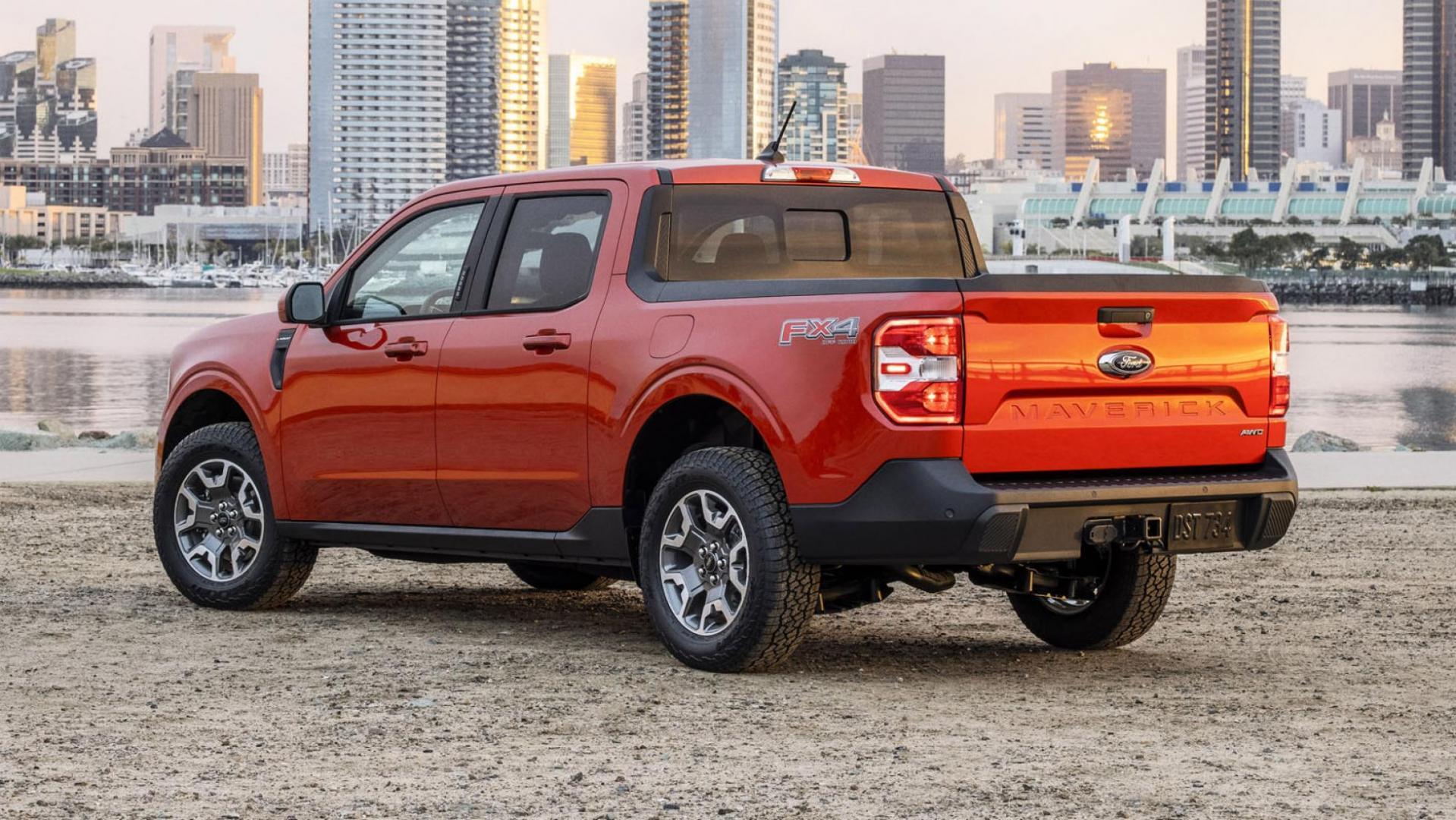 Ford Maverick achterkant