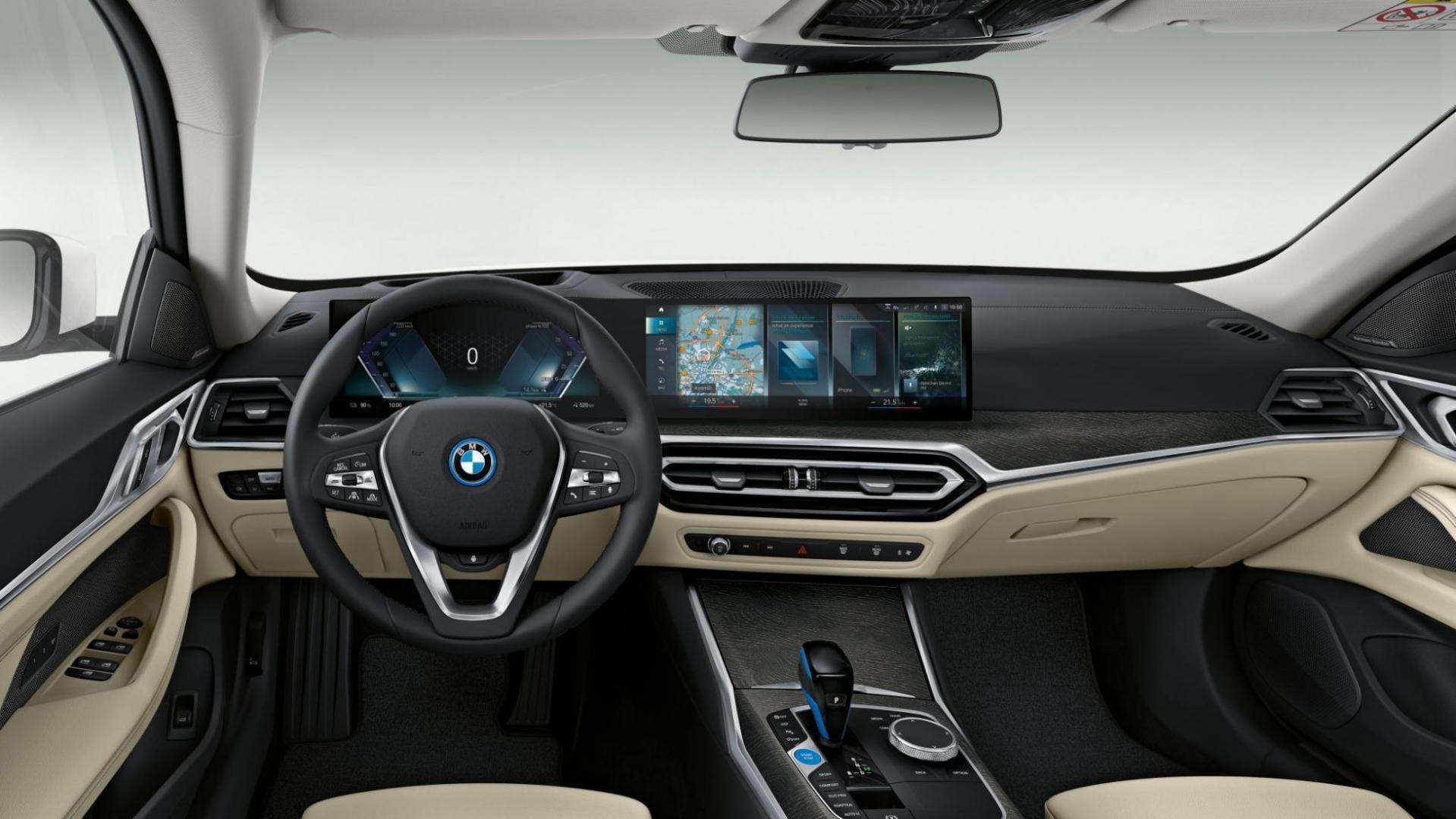 BMW i4 M50 (2021) dashboard
