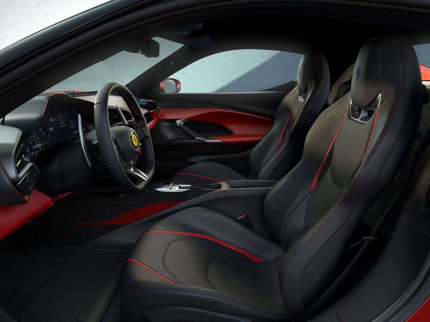 Interieur Ferrari 296 GTB