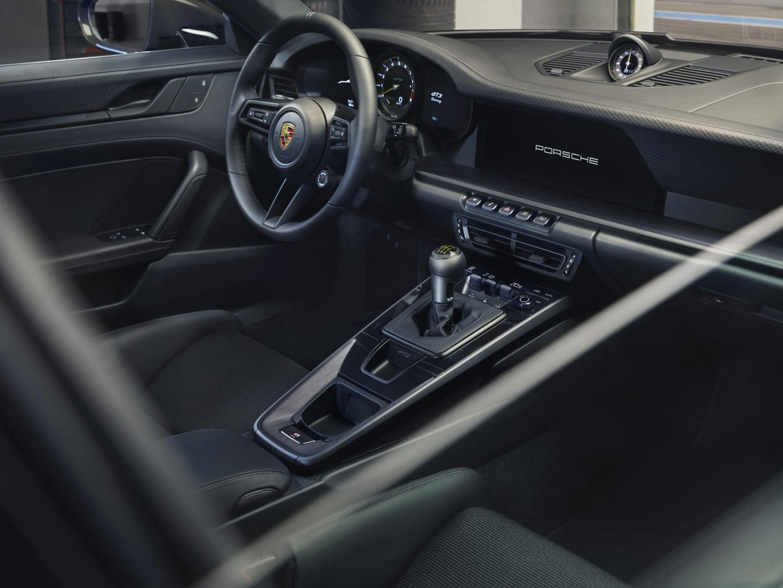 Interieur Porsche 911 GT3 Touring
