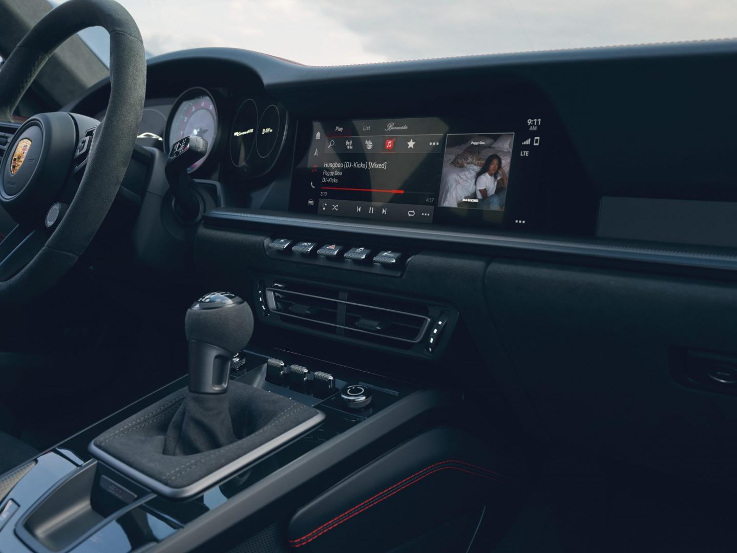 Porsche 911 GTS (992) interieur