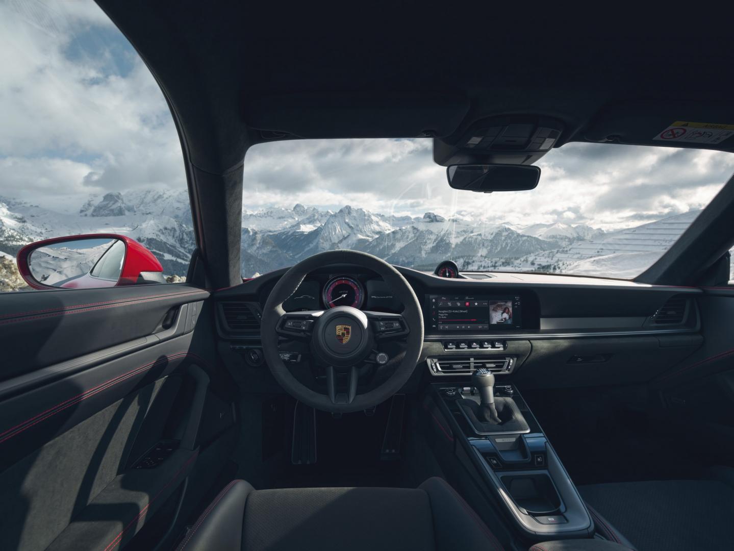 Interieur Porsche 911 GTS (992)