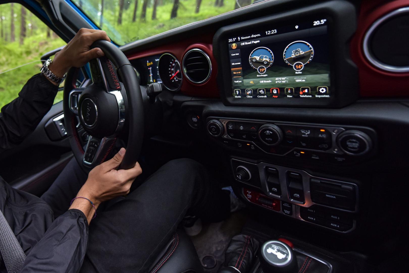Jeep Wrangler 4xE Rubicon interieur