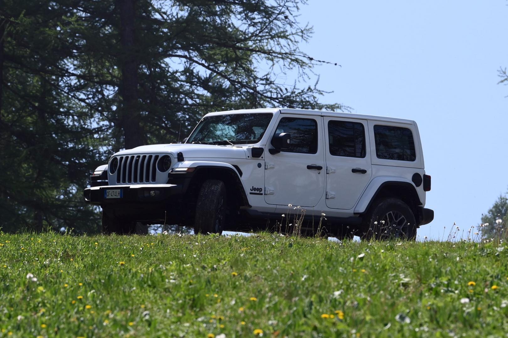 Jeep Wrangler 4xE Rubicon et gras