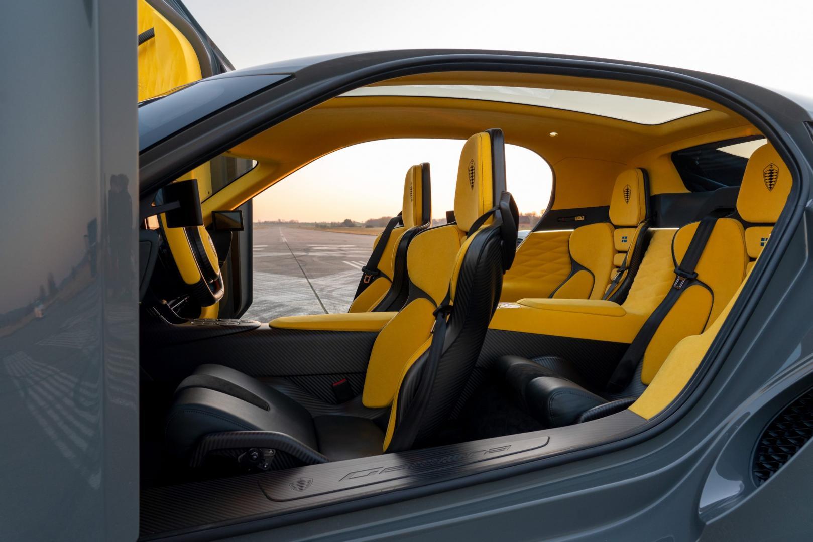 Interieur Koenigsegg Gemera