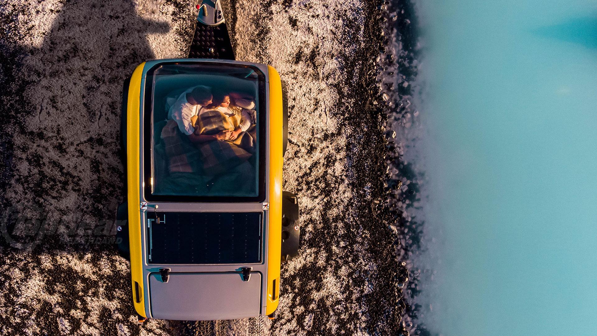 Mink minicaravan